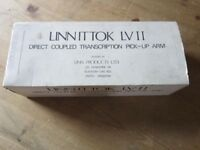 Linn ITTOK Tonearm BOXED Excellent Bearings Upgraded External Cable Free UK Postage