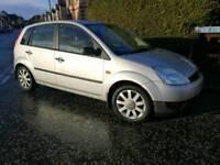 Fiesta 1.25 LX, low mileage, spares or repair