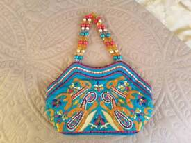 Never been used: Vintage Girls Monsoon hand bag.