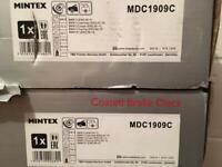 Brand new coated bmw brake discs for e92 mintex mdc1909