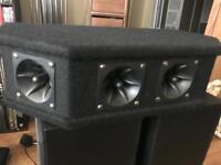 Sound lab single 100w tweeter hifi Speaker 🔊