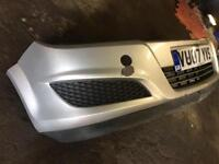 VAUXHALL ASTRA MK5 ESTATE FRONT BUMPER SILVER