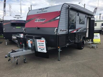 "2017 JB Caravans, 17'10"" Gator - Ready to hit the Travelling Road"