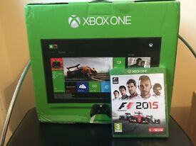 Brand New Boxed X BOX One 500GB + F1 15