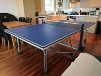 Indoor table tennis table 'Panguea 700i' Olympic size 9ft x 5ft