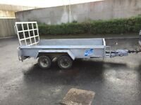 10x5ft Trailer factory made 3500kg load