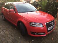 Audi A3 Tdi 2.0 Sportback, Still looks like new, Great all round car, Very reliable.