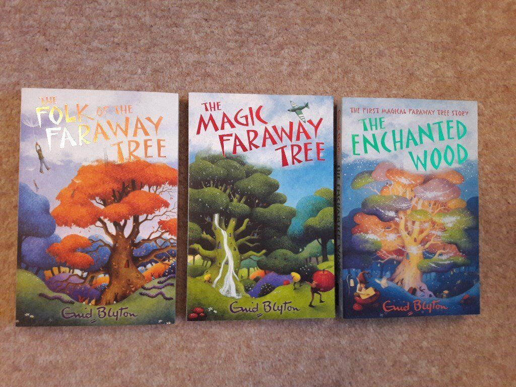 The Magic Faraway Tree 3 book box set, Enid Blyton, very good condition, age 7+, kids books