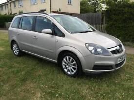 Vauxhall zafira 1,6 petrol