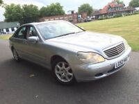 MERCEDES BENZ S CLASS S320 PETROL LIMOUSINE 2002(52) LOW MILEAGE 1 OWNER FROM NEW NEW MOT NO ADVISE