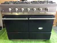 Stunning Lacanche Cluny Moderne Range cooker double oven Graphite kitchen applia