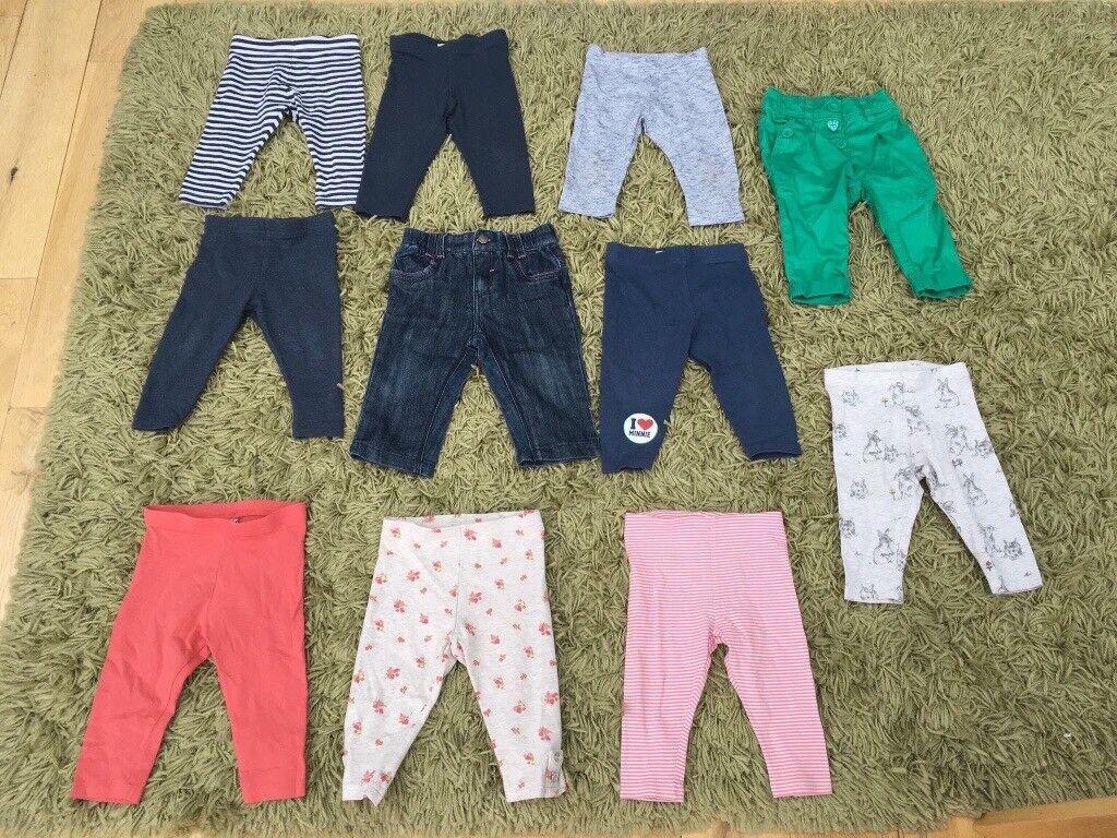 Large bundle Of baby girl clothing 6-9 months MAJORITY NEXT