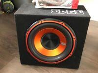 Edge sub/amp excellent condition
