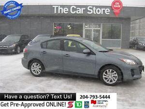 2012 Mazda MAZDA3 GX 1-OWNER, NO ACCIDENTS, WARRTY REMAIN