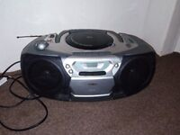 philips cd player,cassette and radio