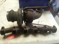 DAF 45 TURBO - MANIFOLD -STARTER MOTOR-ALTERNATOR-FUEL TANK