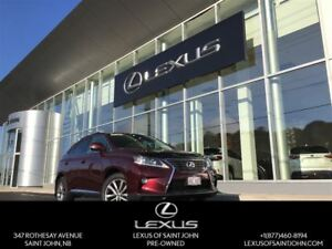 2015 Lexus RX 350 Sportdesign with backup, leather, and sunroof
