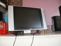 14 inch lcd flat screen tv ,excellent working order,used in a summer house.