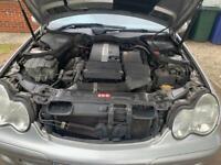 Mercedes c 180 Kim presser. Spares or repair