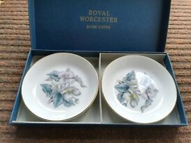 Royal Worcester Fine Bone China Dishes Boxed