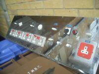 Vintage 1960s/70s Operating theatre control panel