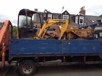 Digger,dumper,roller forklift hire and drive