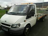 Ford transit recovery truck