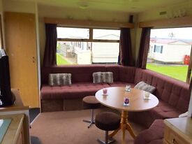 CHEAP STATIC CARAVAN FOR SALE ON THE NORTHUMBERLAND COASTLINE - NO SITE FEES TILL2018