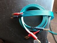 QED Green Profile 4x4 speaker cables