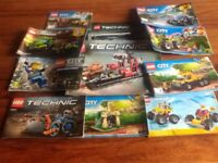 Plenty of Lego & Plenty of Build instructions..