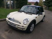 2004 MINI COOPER HATCHBACK 1.6 AUTOMATIC PETROL WHITE MOT EXCELLENT DRIVE NOT ONE CORSA FIESTA KA