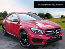 Mercedes-Benz GLA Class GLA 220 D 4MATIC AMG LINE PREMIUM (red) 2016-09-19