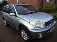 ONE OWNER TOYOTA RAV-4 IN GREAT CONDITION WITH FULL SERVICE HISTORY £ 1295