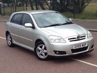 2005 Toyota Corolla t3 1.6 , mot - April 2017 , service history , 2 owners ,focus,astra,civic,megane