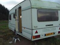 Omega Compass 5 Berth Caravan