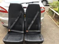 Van rear seats with built in seat belts x 2 £20 each