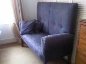 Antique / vintage high back sofa