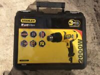 **STANLEY HEAT GUN**WITH BOX AND ACCESSORIES**ONLY USED ONCE**NO OFFERS**
