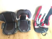 Child car seat / booster seat x 3
