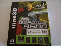 geforce 9500 pci-e . DVI-VGA-HDMI DDR2 GT