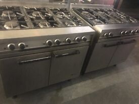 Commercial gas cooker catering resturant hotels pubs cafe hotels job lot equipments