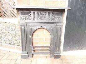 cast iron fireplace (medium sized)