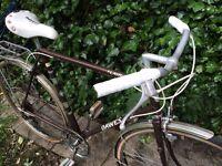 Dawes vintage flat bar dutch style road racer bike