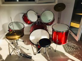 Acoustic drum kit