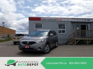 2012 Nissan Quest SL | LOW KM'S | LEATHER | DVD | PWR DOORS