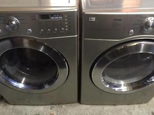 LG TROMM  Laveuse Secheuse Frontales Frontload Washer Dryer