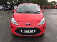 12 plate - Ford Ka Edge - 1.2 petrol - 30£/year tax - 9 months mot - warranted low 56K - good drive