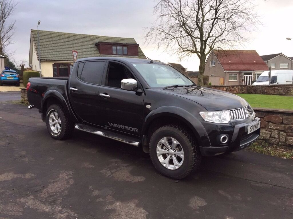2011 11 mitsubishi l200 warrior double cab pick up in kilmaurs east ayrshire gumtree. Black Bedroom Furniture Sets. Home Design Ideas