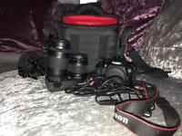 Canon 1300D Camera and Kit - ONO