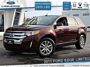 2011 Ford Edge **LIMITED*AWD*CUIR*TOIT*NAVI*CAMERA*CRUISE*A/C 2
